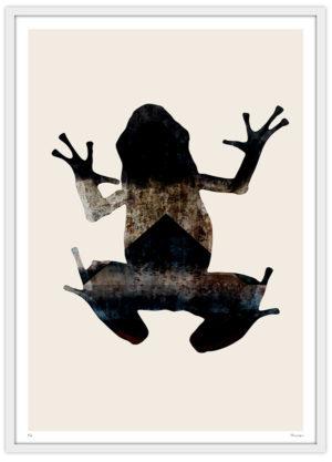 Abstract groda frog trendig