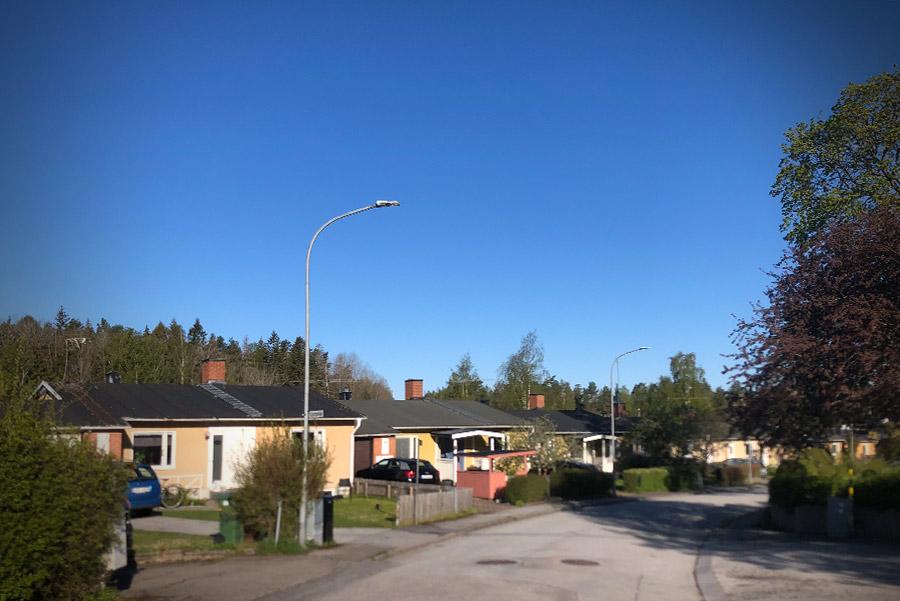 Brickeberg villaområde Örebro